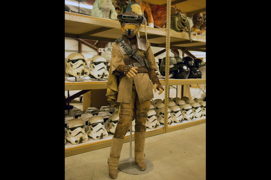 Le déguisement de chasseur de prime de la princesse Leia dans «Le Retour du Jedi».