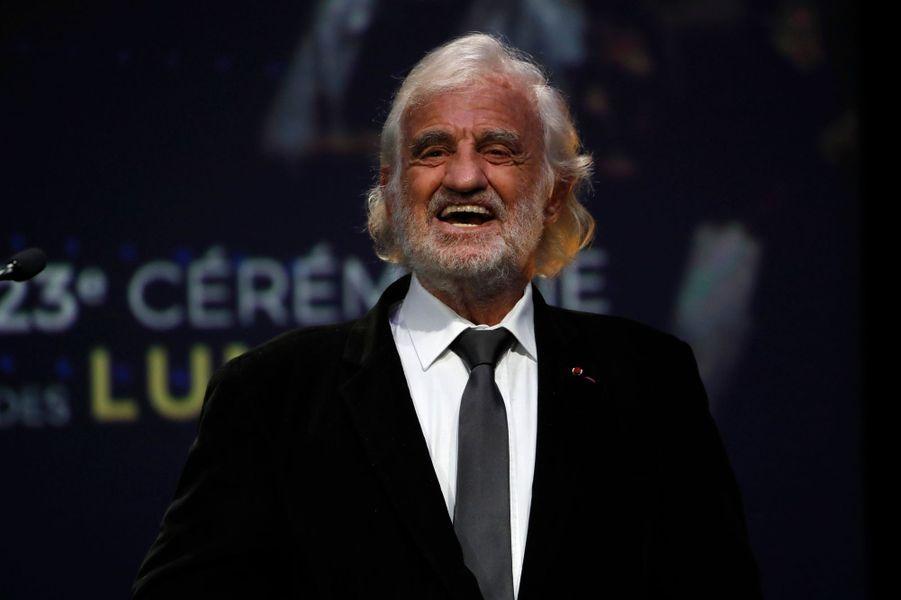 Jean-Paul Belmondo aux Lumières de la presse internationale