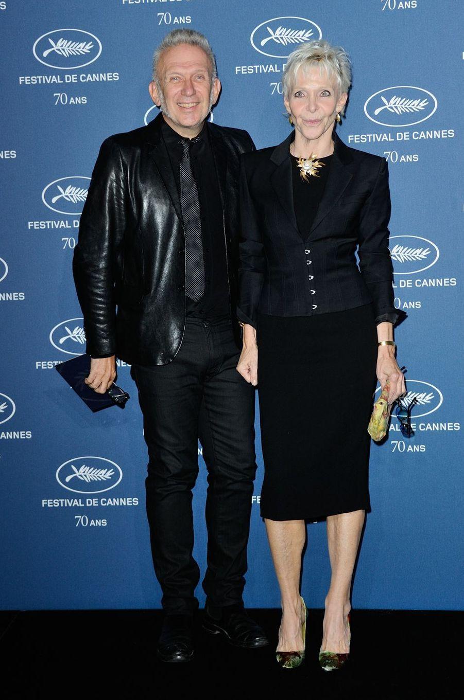 Jean-Paul Gaultier et Tonie Marshall.