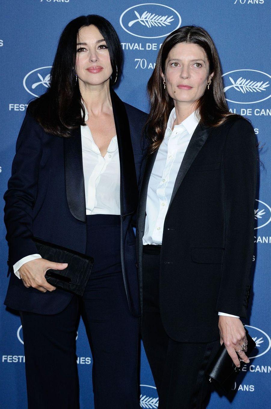 Monica Bellucci et Chiara Mastroianni.