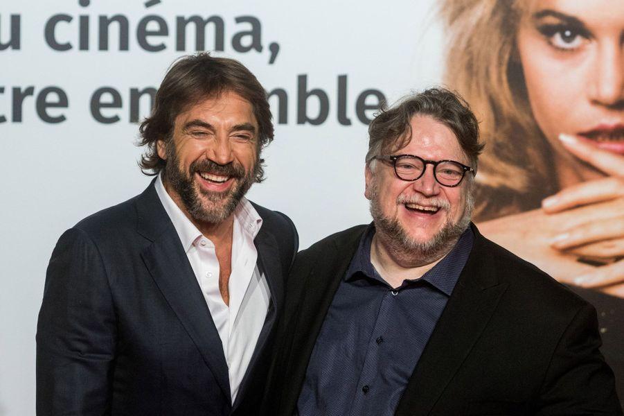 Javier Bardem et Guillermo del Toro