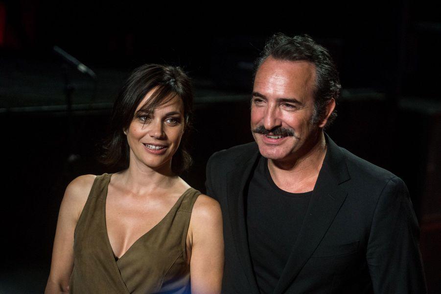 Jean Dujardin et Nathalie Péchalat