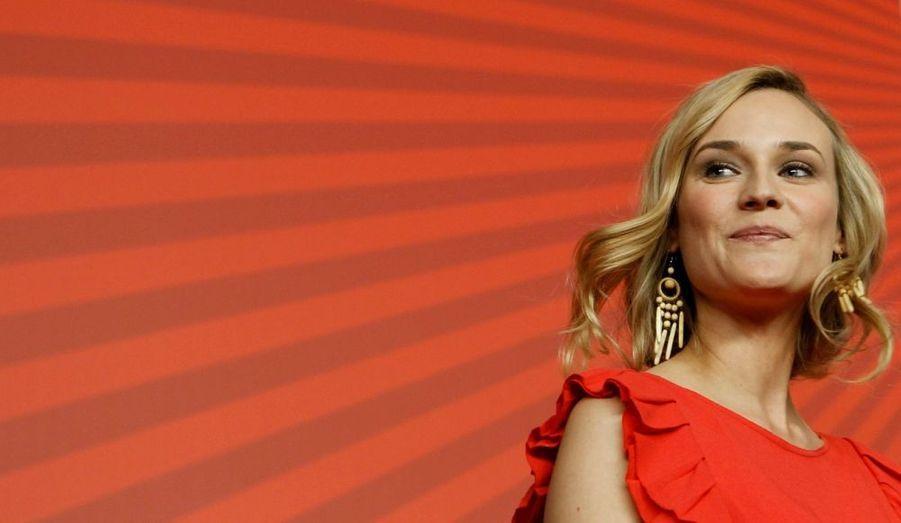 L'actrice allemande était venue présenter son nouveau film, «Unknown».