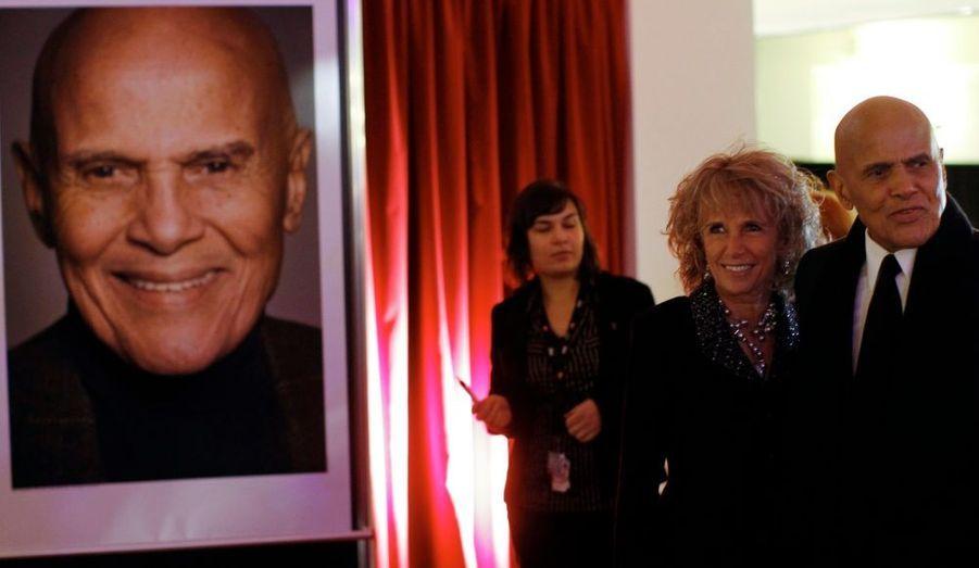 Harry Belafonte et sa femme Pamela