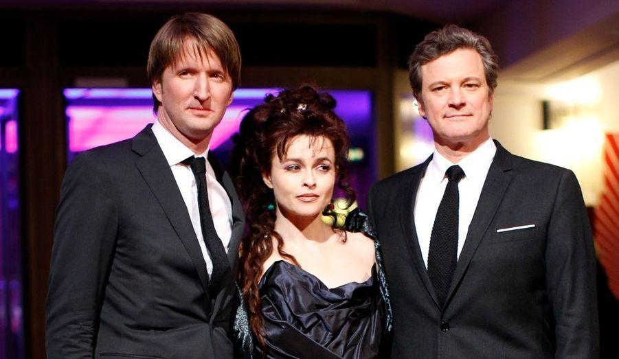 Le réalisateur Tom Hooper est venu défendre son «Discours d'un Roi», avec ses acteurs principaux, Helena Bonham Carter et Colin Firth.