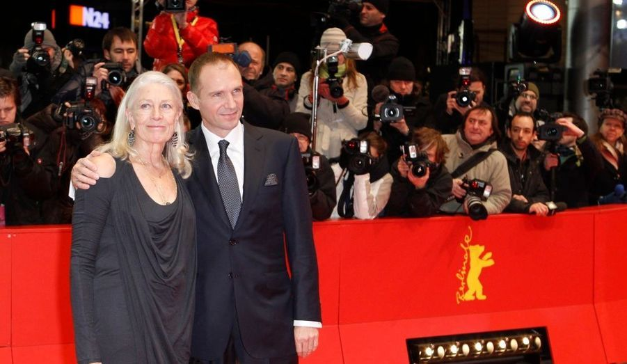 Ralph Fiennes est venu projeter son premier film, «Coriolanus», dans lequel Vanessa Redgrave joue aux côtés de Gerard Butler.