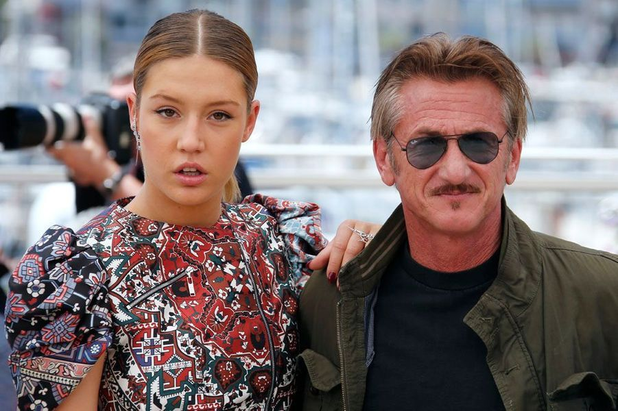 Adèle Exarchopoulos et Sean Penn