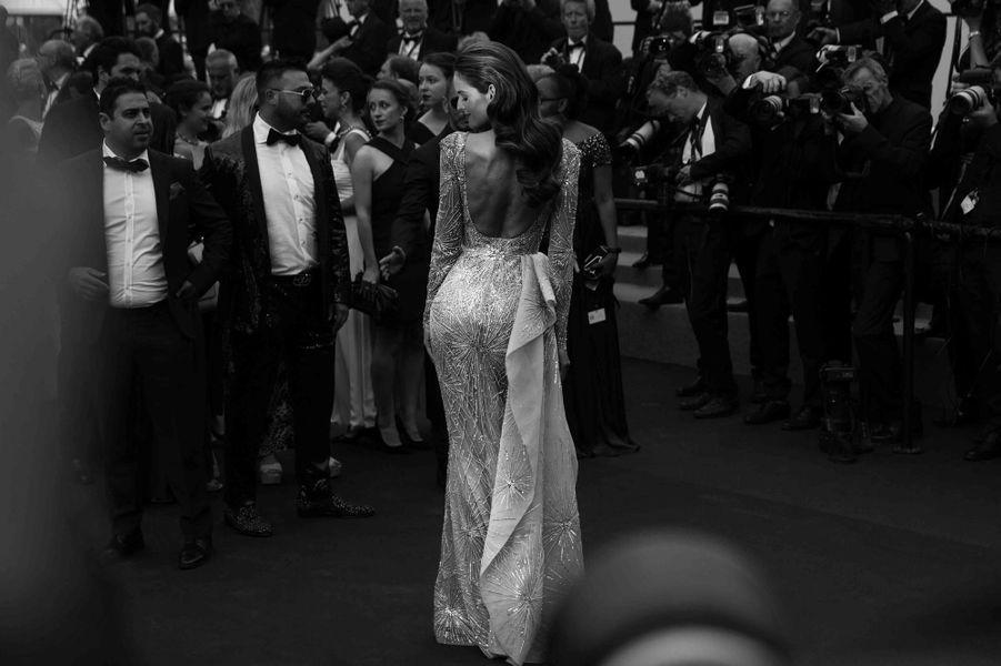 Izabel Goulard lors du 70e Festival de Cannes.