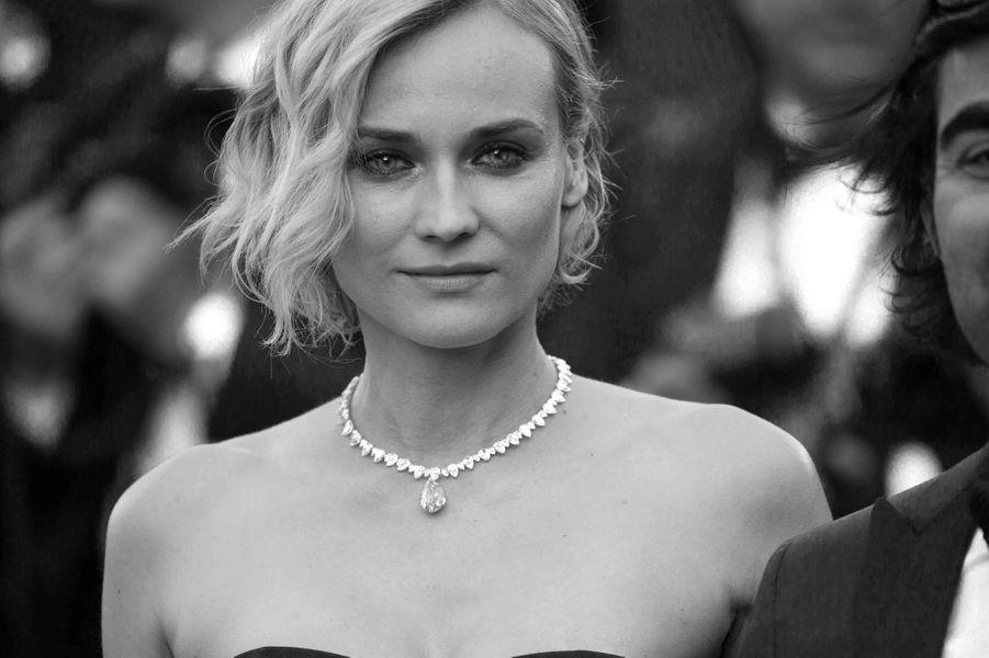 Diane Kruger, prix d'interprétation féminine du Festival de Cannes.