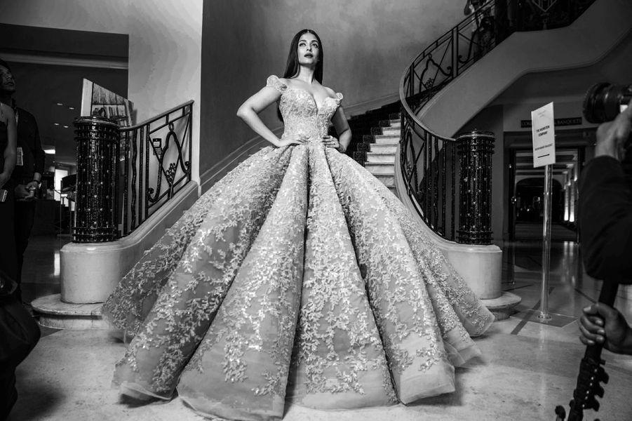Aishwarya Rai, resplendissante.