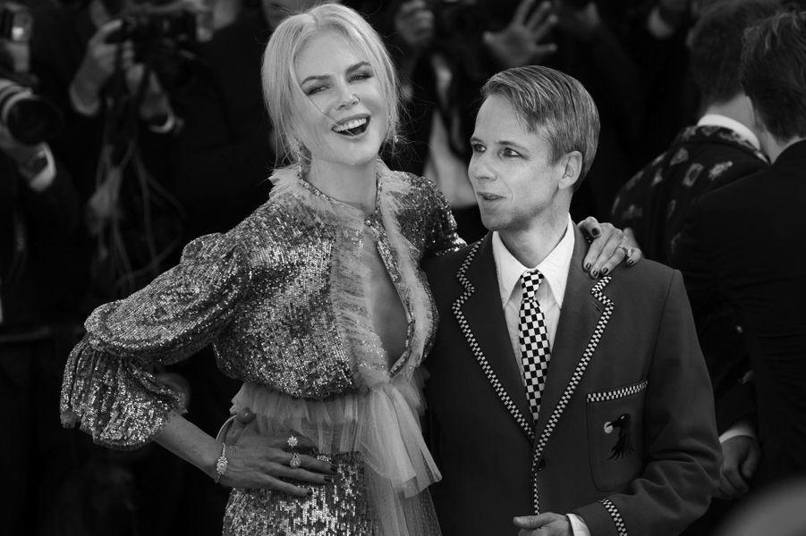 Nicole Kidman et le metteur en scène John Cameron Mitchell.