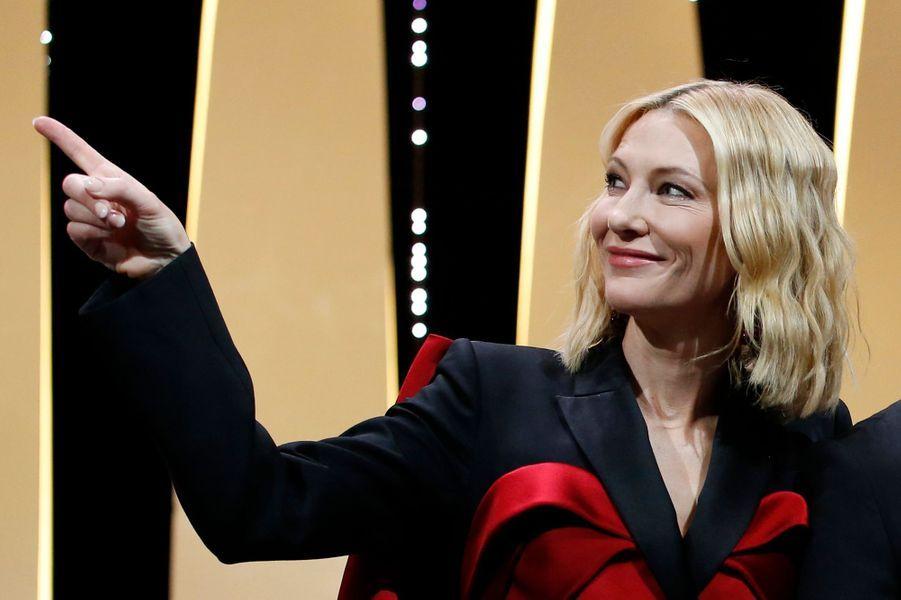 La présidente du jury Cate Blanchett