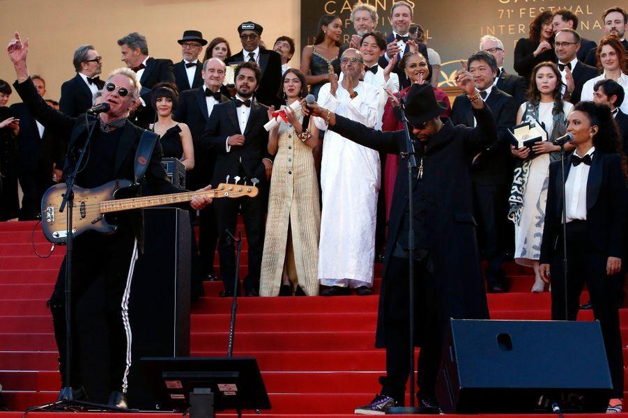 Sting et Shaggy ont donné un concert
