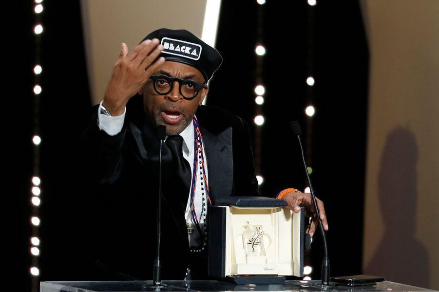 "Spike Lee, Grand prix du jury pour ""BlacKkKlansman"""