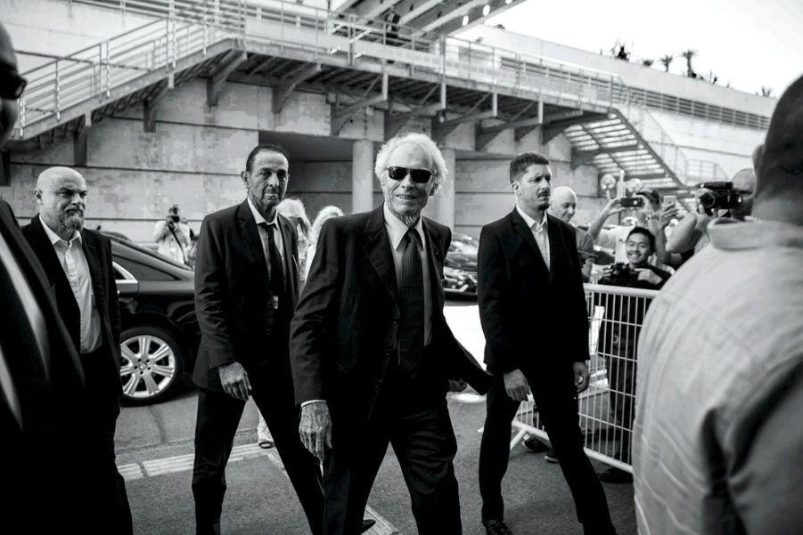 Mythique : Clint Eastwood arrive au Palais pour la projection d'« Impitoyable », son chef-d'oeuvre réalisé en 1992.