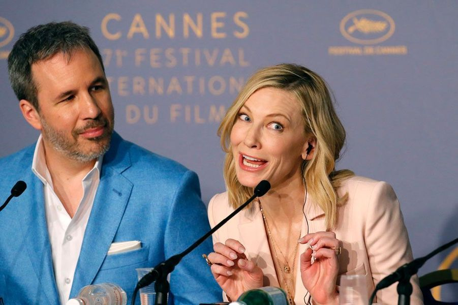 Cate Blanchett et Denis Villeneuve