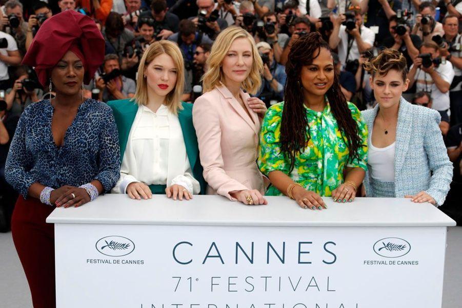 Les cinq jurées du 71e Festival de Cannes