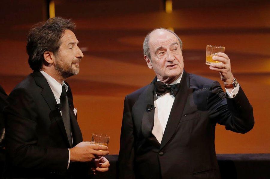 Edouard Baer et Pierre Lescure