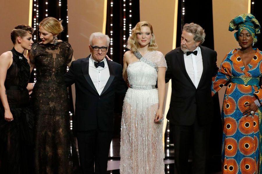 Le jury autour de Martin Scorsese