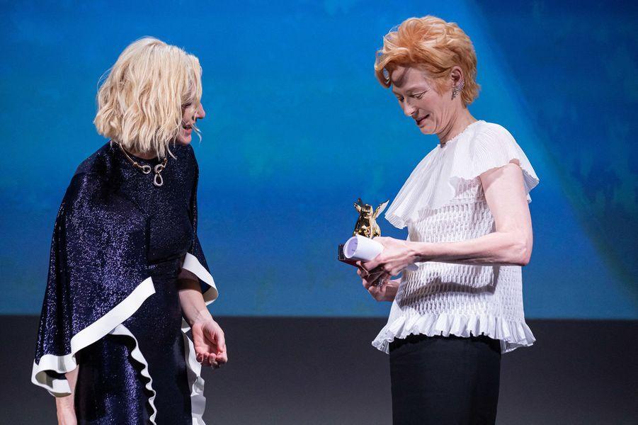 Cate Blanchett et Tilda Swinton