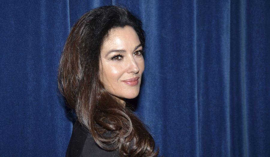 "La belle italienne est venue présenter son film ""Rhino Season"", dimanche."