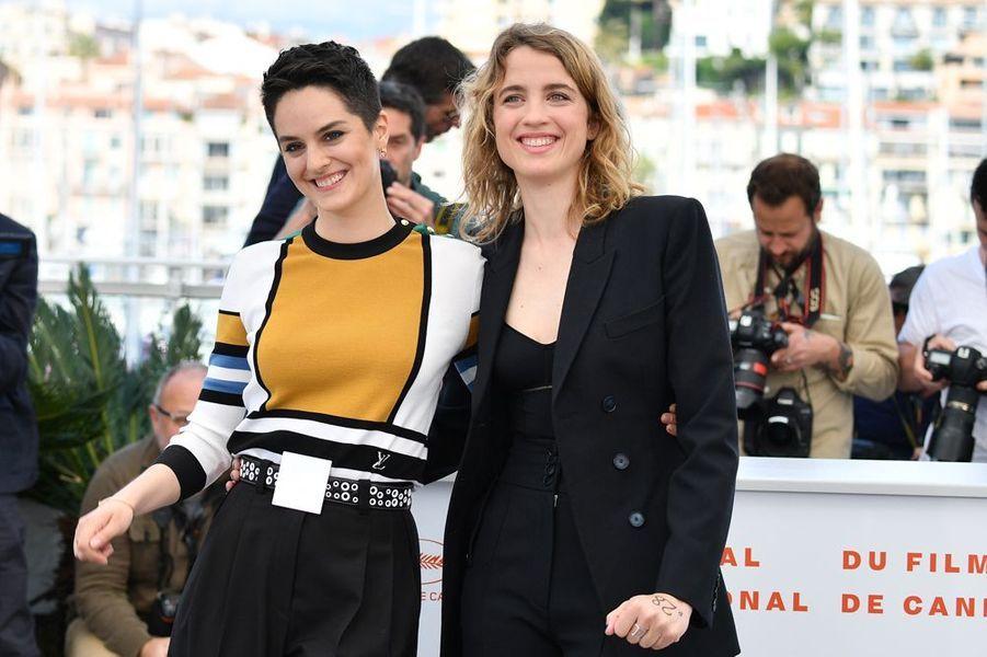 Noémie Merlant et Adèle Haenel