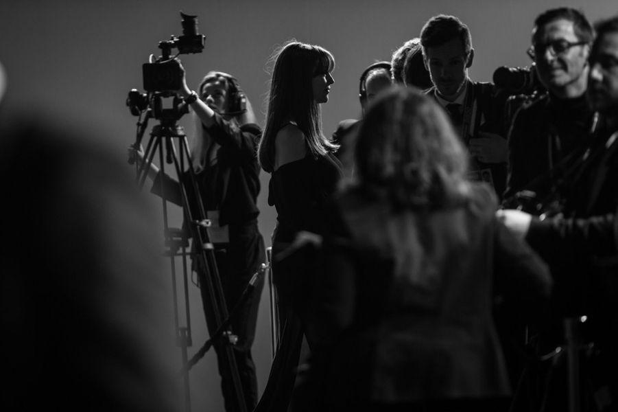 Monica Bellucci sur le tapis rouge des César 2019.
