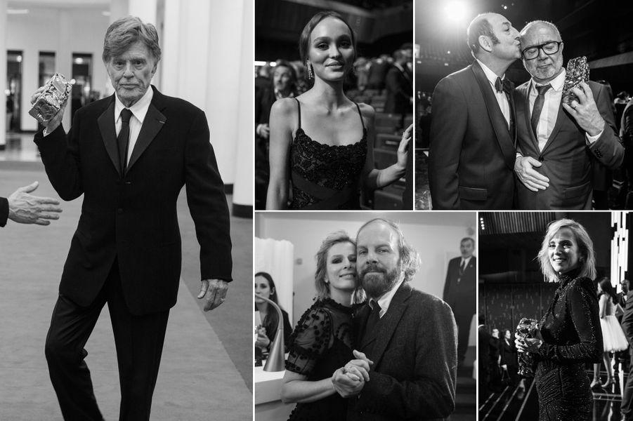 Notre photographe Vincent Capman était dans les coulisses des César 2019. Découvrez une sélection noir et blanc de ses photos.