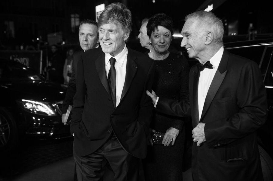 Robert Redford et Alain Terzian, président de l'académie des César.