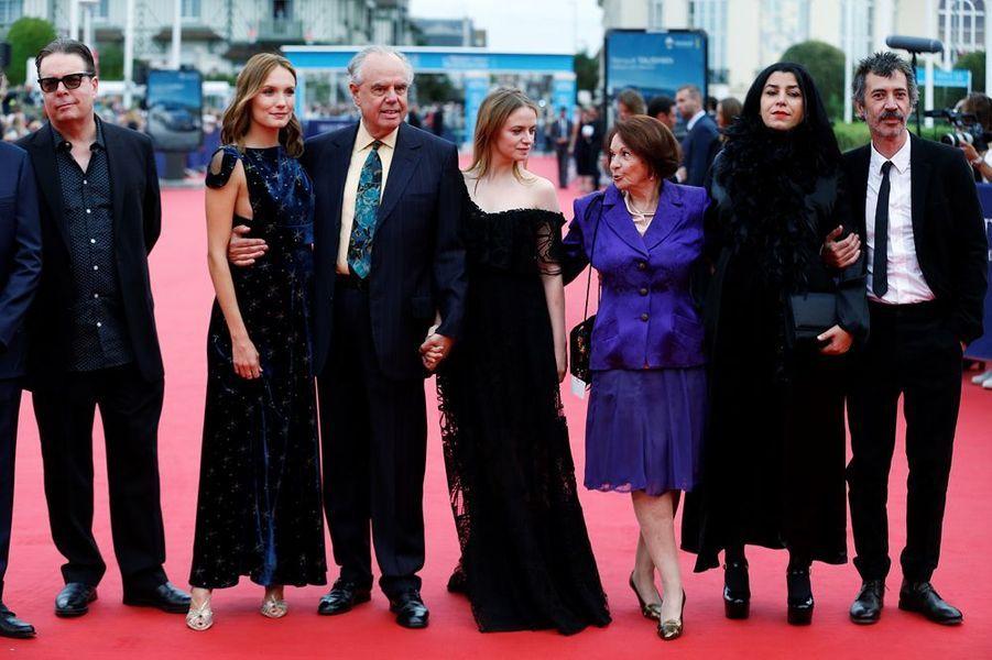 Le jury du 42e Festival de Deauville