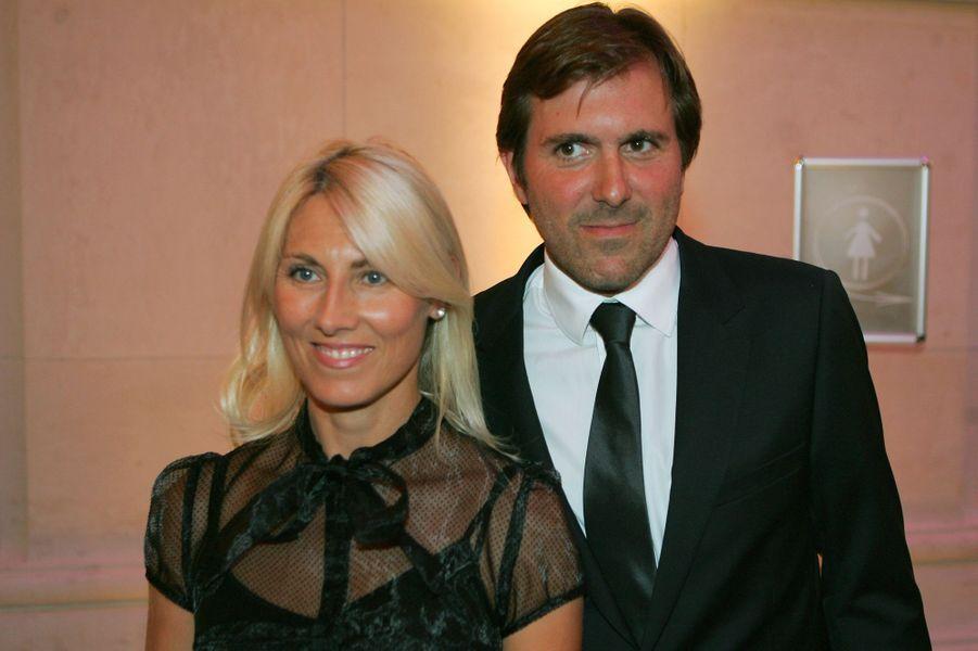 Marie Sara et Christophe Lambert au musée des Arts décoratifs, en juin 2006.