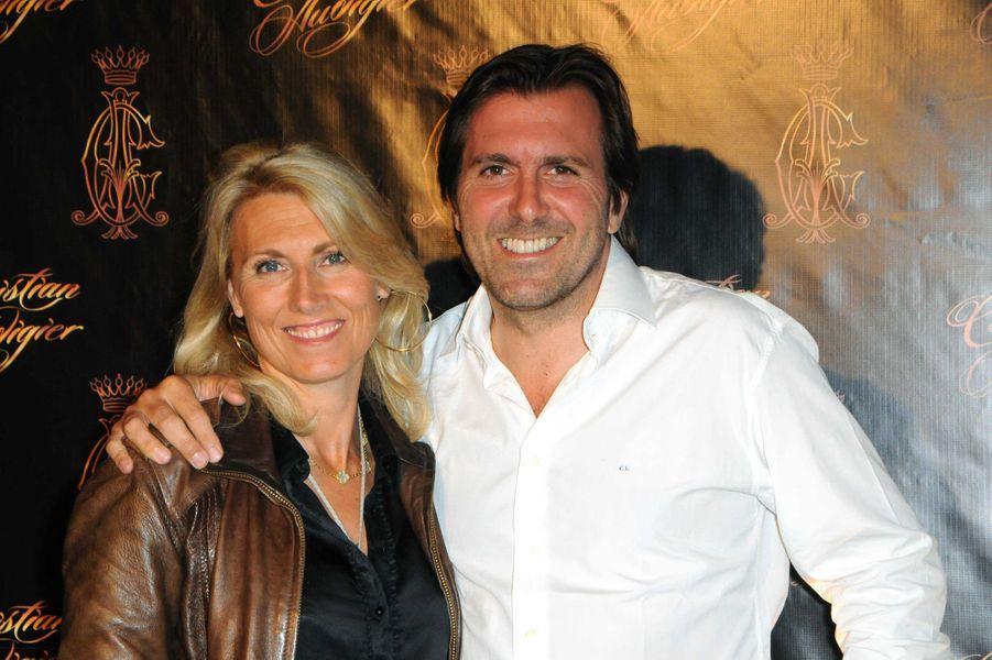 Marie Sara et Christophe Lambert au VIP Room de Cannes, en mai 2009.