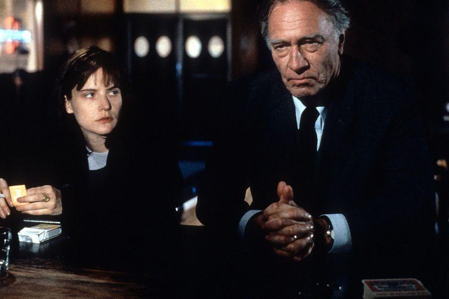 """Jennifer Jason Leigh et Christopher Plummer dans """"Dolores Claiborne"""" en 1995."""