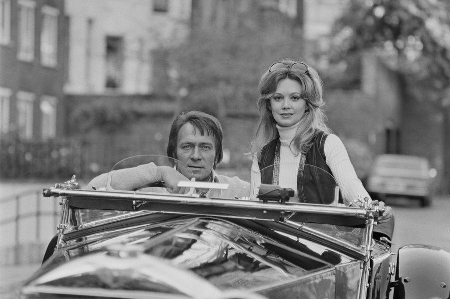 Christopher Plummer et sa femme Elaine Taylor en 1971.