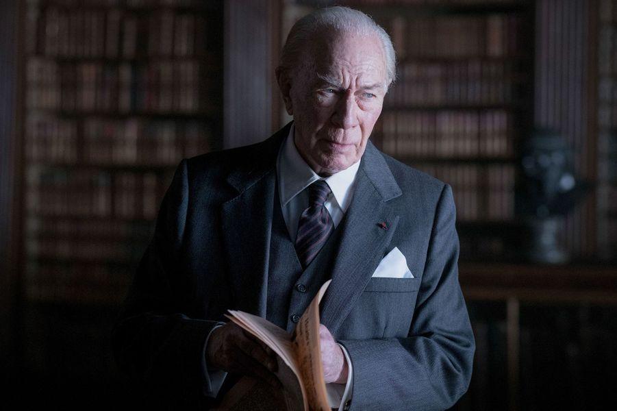 """Christopher Plummer dans """"Tout l'argent du monde""""de Ridley Scott en 2017."""