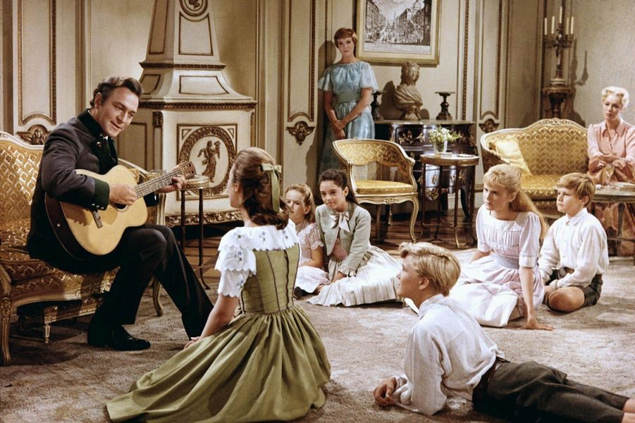"Christopher Plummer dans ""La Mélodie du bonheur"" de Robert Wise en 1965."