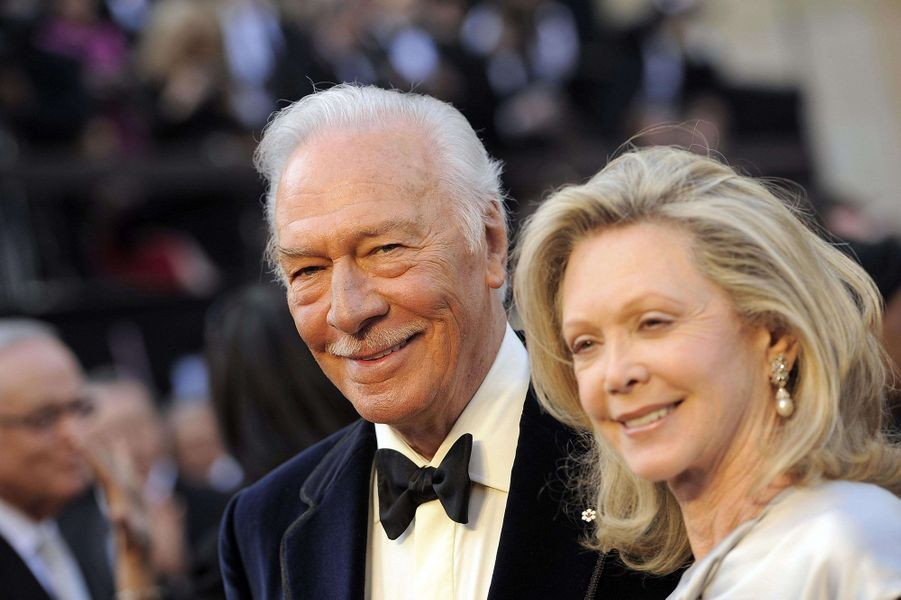 Christopher Plummer et sa femme Elaine Taylor en 2012.