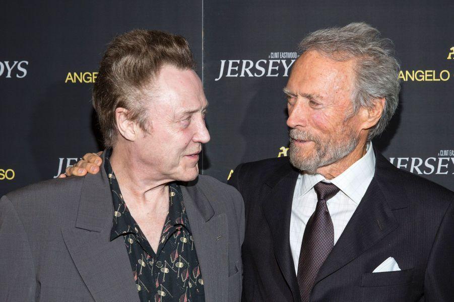 Christopher Walken et Clint Eastwood