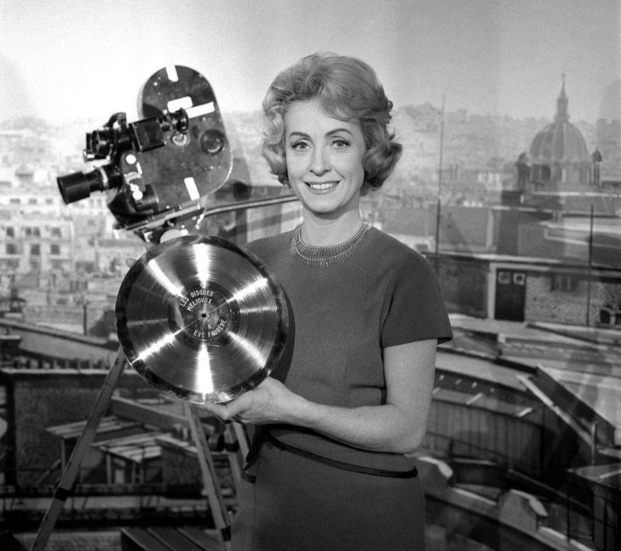 En 1959 aux Studios de Saint-Maurice à Paris.