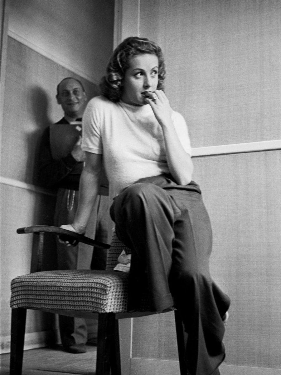 Danielle Darrieux en 1940