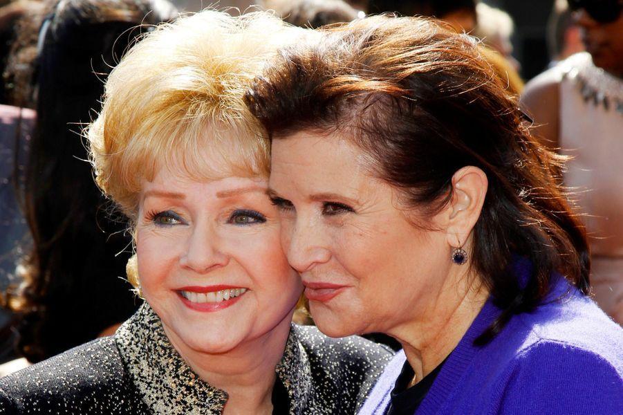 Debbie Reynolds et Carrie Fisher