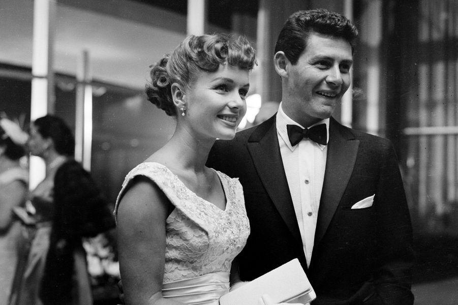 1955 - Debbie Reynolds avec son mari Eddie Fisher