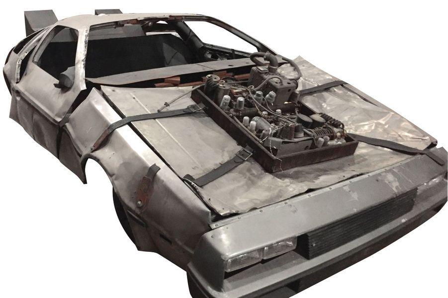 """La voiture de """"Retour vers le futur III"""""""