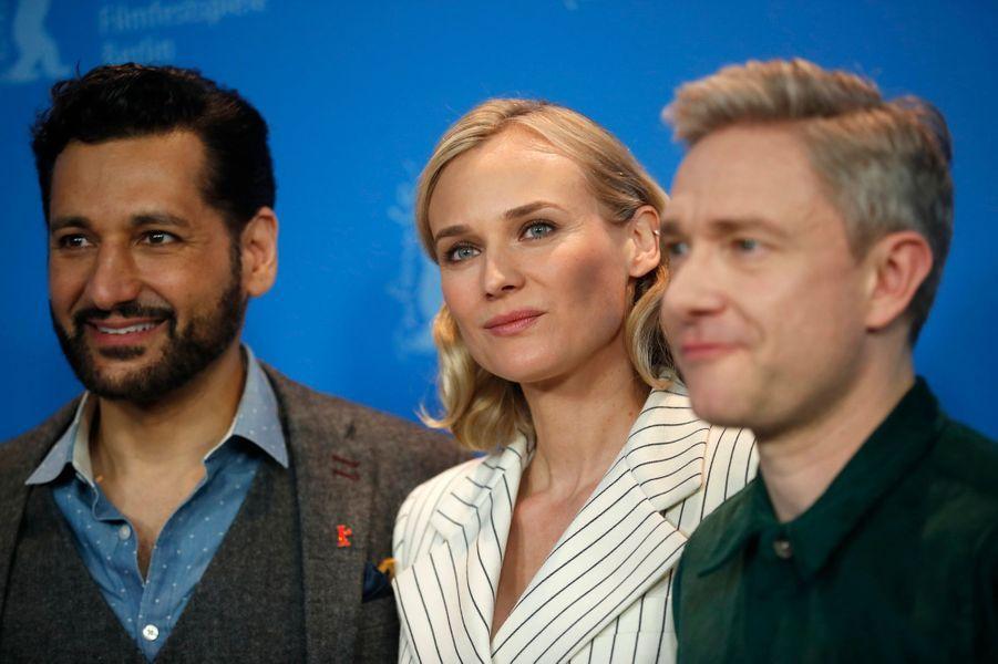 Cas Anvar, Diane Kruger et Martin Freeman.