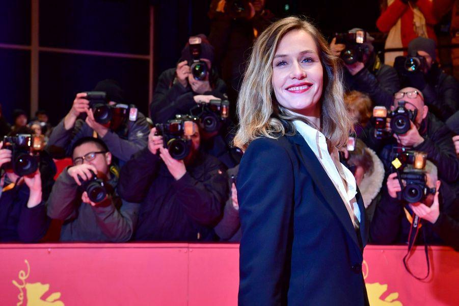 """Cécile de France, actrice dans """"Django"""" d'Etienne Comar, film d'ouverture du 67e Festival de Berlin."""
