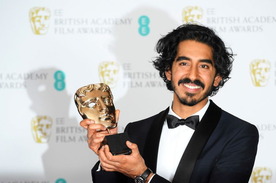 Dev Patel, Bafta du meilleur second rôle masculin lors des Baftas.