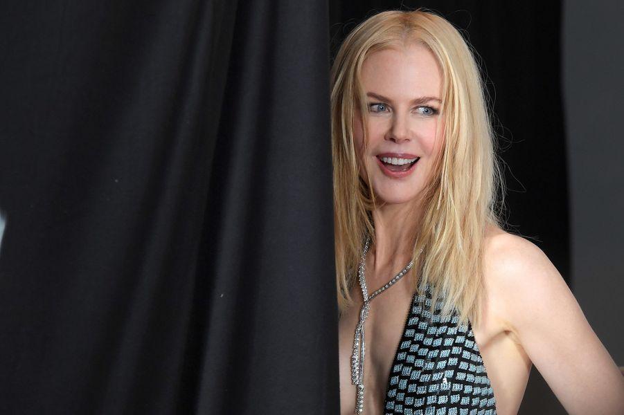 Nicole Kidman lors de la cérémonie des Baftas.