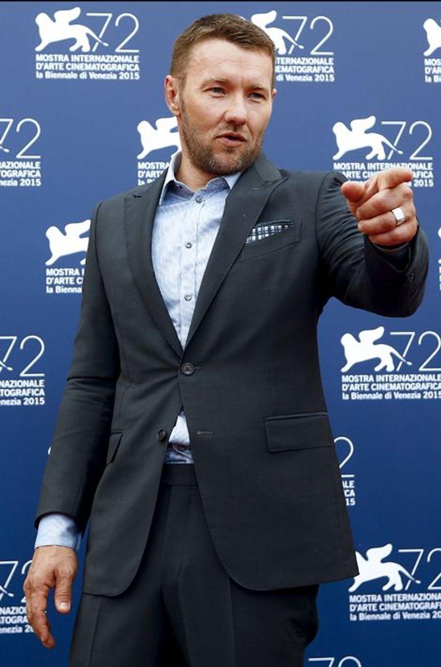 Vendredi 4 septembre : Joel Edgerton arrive à la 72ème édition du festival international du film de Venise.