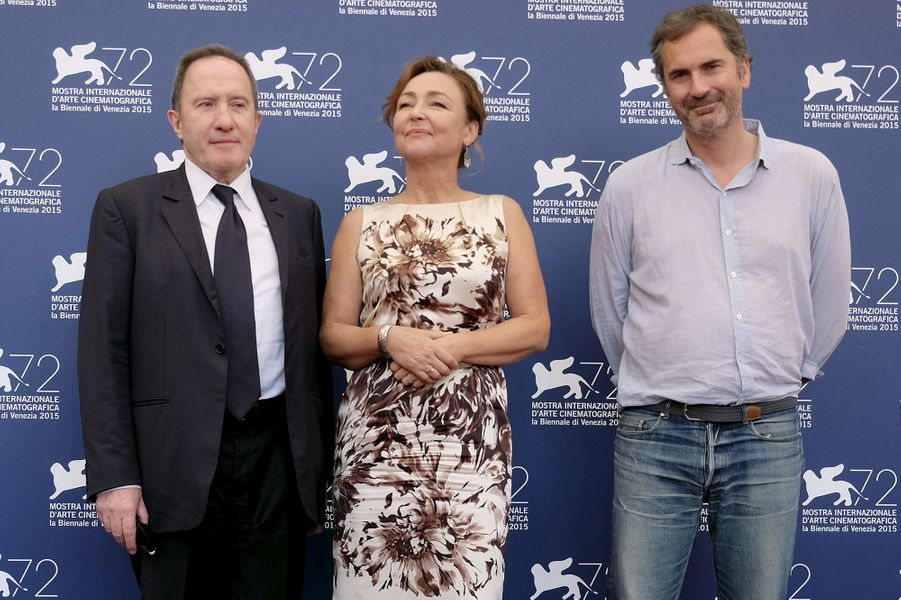 """Vendredi 4 septembre : L'équipe de """"Marguerite"""" arrive à la 72ème édition du festival international du film de Venise."""