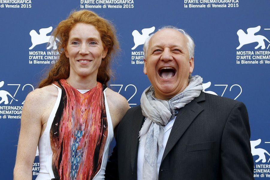 """Vendredi 4 septembre : Vincent Nemeth et Johanna Korthals présentent """"Francofonia"""" à la 72ème édition du festival international du film de Veni..."""